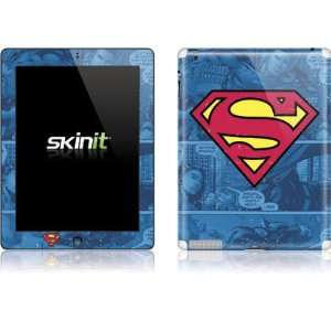 Skinit Superman Logo Vinyl Skin for Apple iPad 2: Electronics