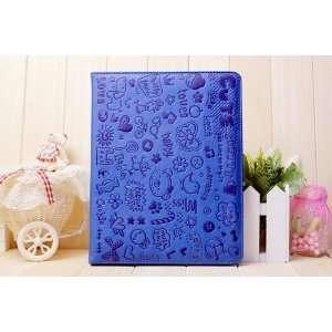 Smart Leather Case Cover Stand For Apple iPad 2 / New Apple
