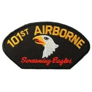 U.S. Army 101st Airborne Hat Patch 2 3/4 x 5 1/4 Patio