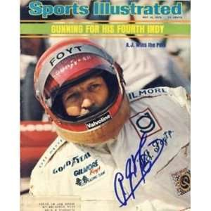 A.J. Foyt (Auto Racing) Sports Illustrated Magazine