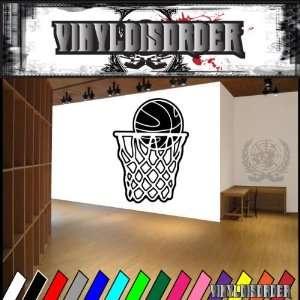 Basketball Hoop Net Ball Bball Sport Sports Vinyl Decal