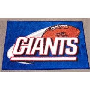 NEW YORK GIANTS NFL Football Tufted BATH RUG Mat Area Rug