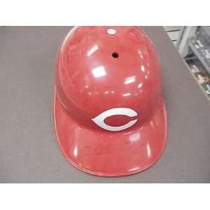 Reds PETE ROSE AUTO SIGNED F/S Batting Helmet w/COA Sports & Outdoors