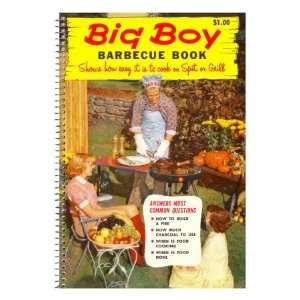 Big Boy Barbecue Book, Book Cover Giclee Poster Print