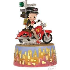 Betty Boop Biker Betty Animated Musical Home & Kitchen