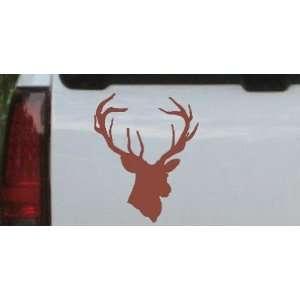 Big Buck Hunting And Fishing Car Window Wall Laptop Decal