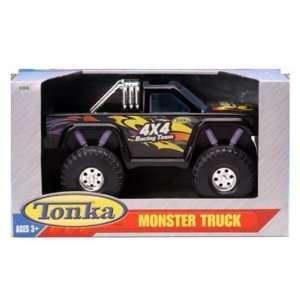Tonka Monster Truck 4x4 Racing Team Black: Toys & Games
