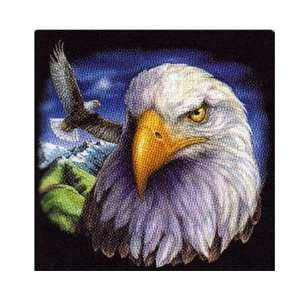 Super Plush Eagle Queen Mink Style Blankets 79x95 Home & Kitchen