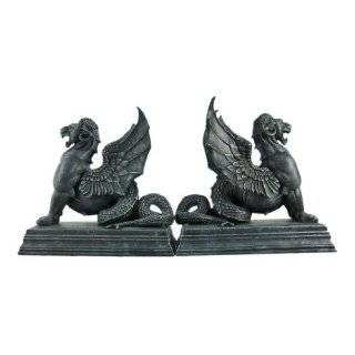 Stunning Resting Lion Bookends Book Ends Leo Home & Kitchen