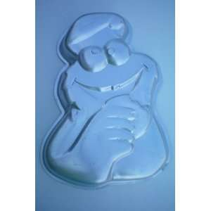 Wilton Cookie Monster Cake Pan    1977 Muppets    RETIRED
