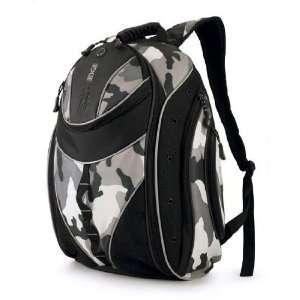 Black and Camouflage Express Laptop Backpack