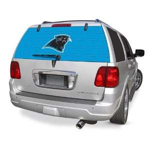 CAROLINA PANTHERS Rear Window Rearz Sticker   Decal