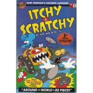Itchy & Scratchy First Issue Comic Book #1