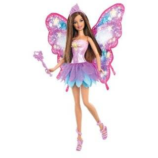 Barbie Purple Fairy Doll with Pink Wings Toys & Games