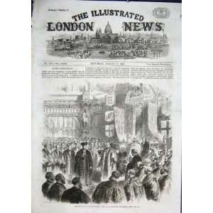 Opening City London Industrail Exhibition 1866