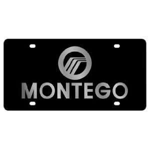 Montego License Plate INCLUDES FREE DURABLE CLEAR PLASTIC SHIELD