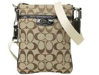 com Coach Signature Penelope Swingpack Crossbody Messenger Bag Purse
