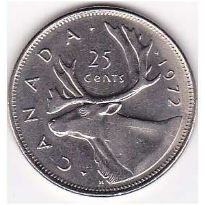 1972 CANADA 25 Cents Coin Everything Else