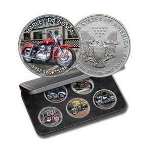 Harley Davidson Silver Eagle Coin Collection Toys & Games