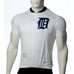 MLB Detroit Tigers Mens Cycling Jersey Size X Large