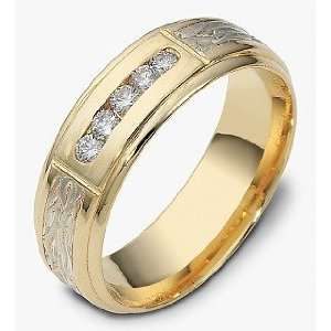 Karat Gold Comfort Fit Wedding Band Ring   4.25 Dora Rings Jewelry