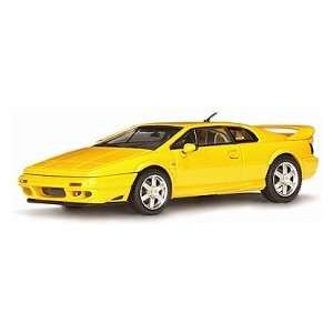 AUTOart LOTUS ESPRIT V8 YELLOW DIECAST CAR: Toys & Games