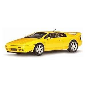 AUTOart LOTUS ESPRIT V8 YELLOW DIECAST CAR Toys & Games