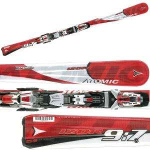 Atomic Izor 9:7 Alpine Ski with Device 412 Binding: Sports & Outdoors