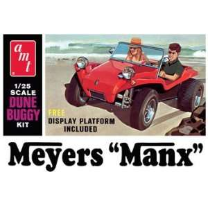 AMT 1/25 Meyers Manx Dune Buggy (Ltd Production) Kit: Toys