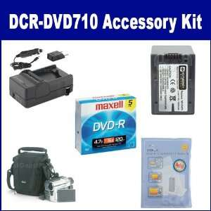 Sony DCR DVD710 Camcorder Accessory Kit includes SDM 109