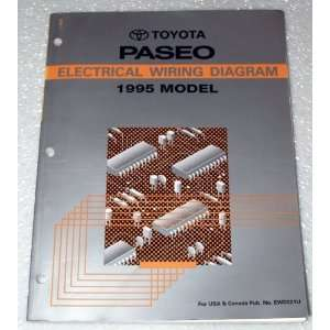 1995 Toyota Paseo Electrical Wiring Diagram (EL44 Series