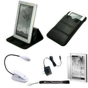 Case can easily be converted to a stand for Sony PRS 950 Electronic