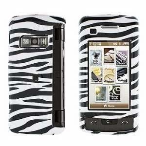 LG enV Touch VX11000 Zebra Skin Hard Case Snap on Cover