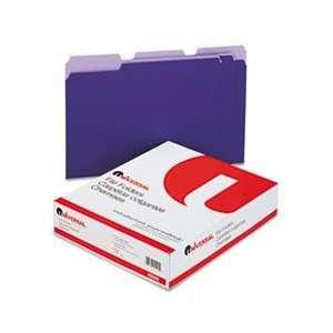 Universal® UNV 10505 COLORED FILE FOLDERS, 1/3 CUT ONE