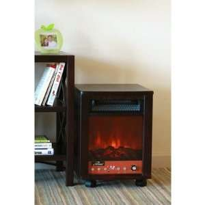 iLIVING ILG958 Portable Fireplace 1500 Watts with Remote