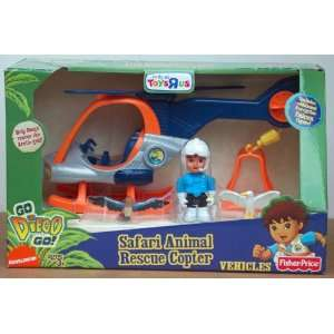 Fisher Price Go Diego Go Exclusive Safari Animal Rescue