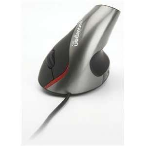 Joy Ergonomic Optical Mouse Silver Five Button Full Function Ergonomic