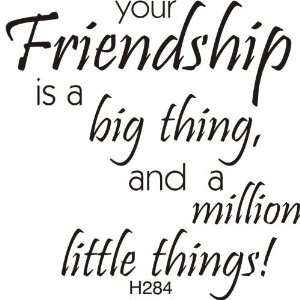 Big Thing Friendship Rubber Stamp Arts, Crafts & Sewing