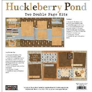 Huckleberry Pond Double Page Kit 12X12 Makes Two 2 Page