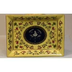 FANCY FRENCH PORCELAIN HAND PAINTED 8 CIGAR ASHTRAY Everything Else