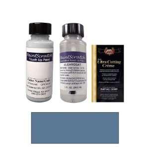 1 Oz. Graphite Blue Metallic Paint Bottle Kit for 2000