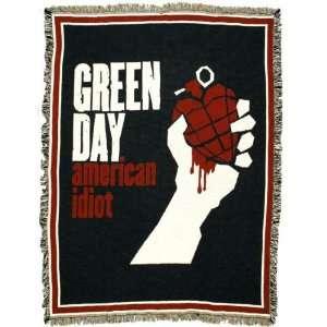 Green Day   American Idiot Throw Rug