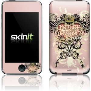 Skinit Harley Davidson Pink Heart Tattoo Vinyl Skin for