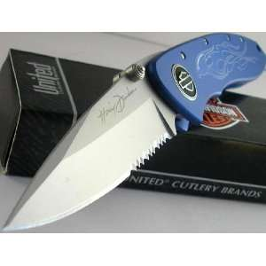 United Cutlery   Harley Davidson Flaming Legend III   Blue