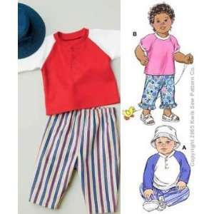 Babies Shirts Pants and Hat Pattern By The Each: Arts, Crafts & Sewing