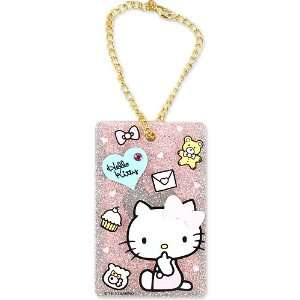 [Hello Kitty] card case charm TM Sanrio enjoy mobile