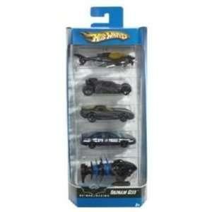 Mattel Hot Wheels 2006 164 Scale Batman Begins Gotham City 5 Pack Die