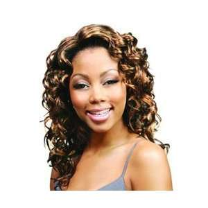 FX RELAX (Motown Tress)   Synthetic Full Wig in Color 1BP30 Beauty