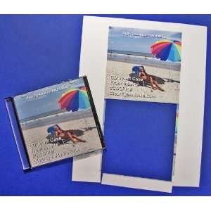 CD Jewel Case Glossy Insert Front Cover 25 sheets (50