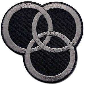 Led Zeppelin Swan Song Logo Iron On Patch: Clothing